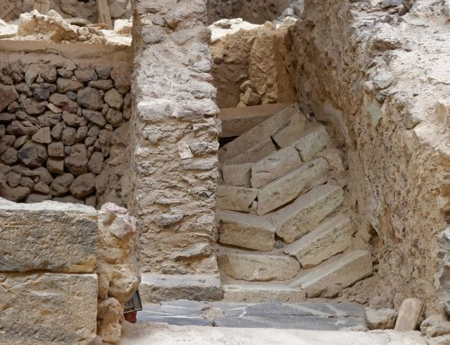 Archaeological treasures revealed in Akrotiri